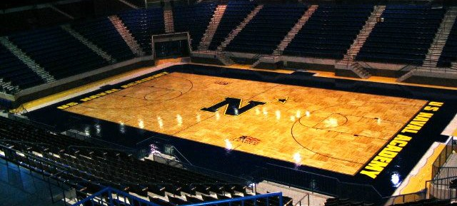 US Navy Basketball court hardwood floors