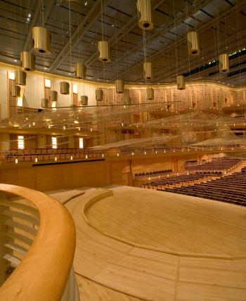 theater hardwood floors