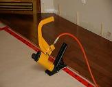 stapling down hardwood floors