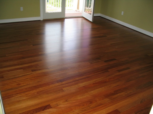 residential hardwood floor